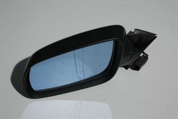 Audi A4 B5 Außenspiegel Links FS unlackiert schwarz 8D1858531C