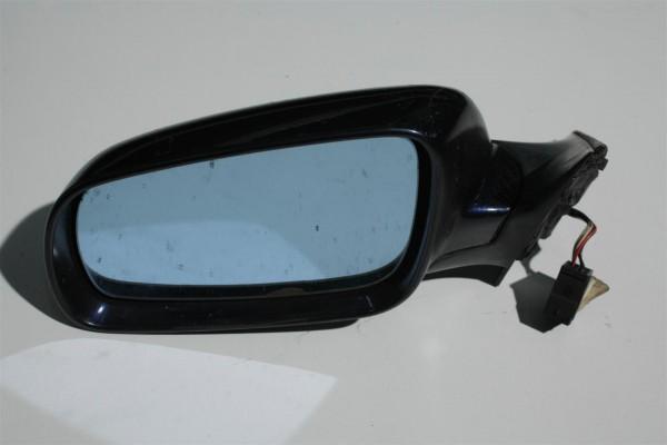Audi A4 B5 Außenspiegel Links FS santorinblau LZ5K 8D1858531C