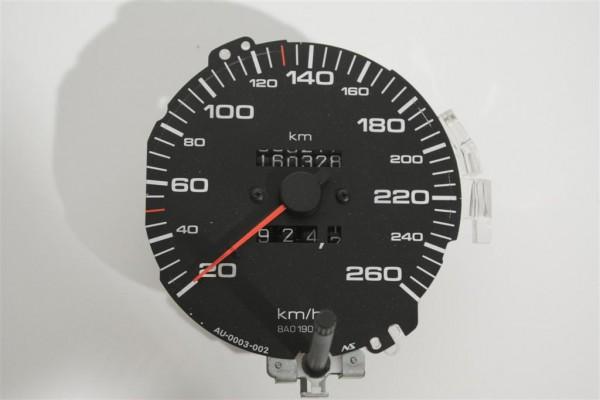 Audi 80 B4 Tacho 260 km/h Hersteller Nippon Seiki/UN4 8A2957031E