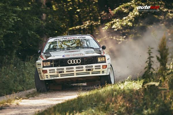 Poster DIN A2 Pommer Sport Audi Rallyequattro A2