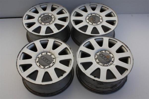 Audi A4/A6 Alufelgensatz Speedline 10-Speichen 7Jx16 ET45 LK 5x112 4A0601025P