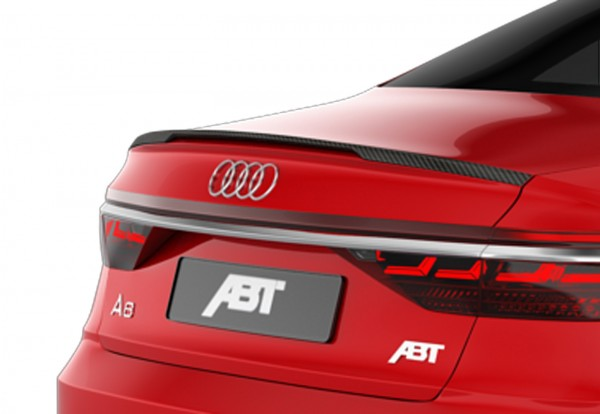 ABT Sportsline Audi A8 4N Heckspoiler Sichtcarbon Glanz 4N008001140