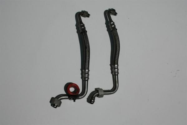 Audi S2 3B Ölvor- & Rücklaufleitung Ölkühler 034117125J & 034117123J