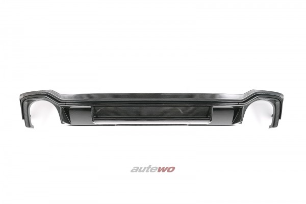 8W9807521B Audi RS4 B9/8W Carbon-Diffusor Heck-Stoßstange