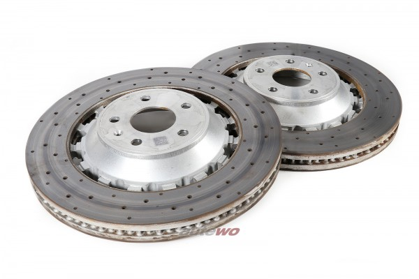 8V0615301S NEU Audi RS3 8V 2.5l TFSI Set Bremsscheiben Original gelocht 370x34