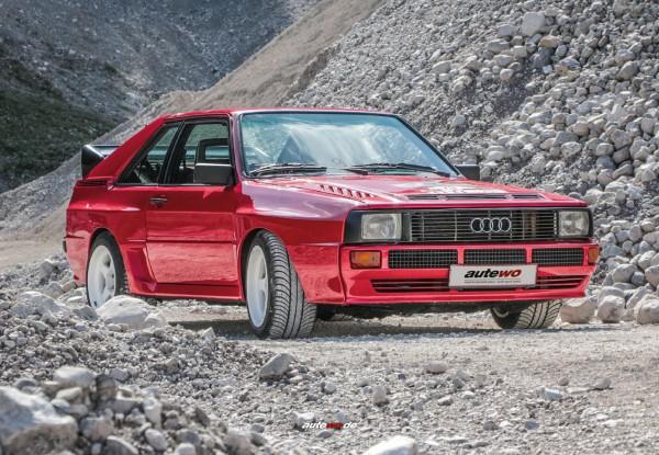 Postkarte Audi Sportquattro