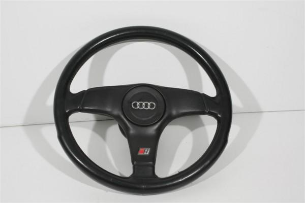 Audi S4/C4 & 80Typ89/B4/100Typ44/C4/V8 3-Speichen Sportlenkrad Leder 4A0419091