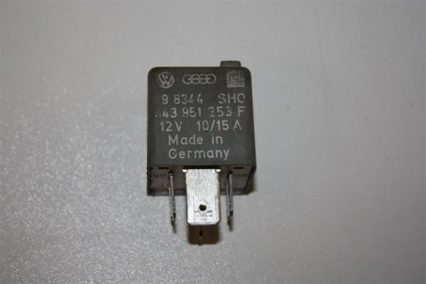 Audi/VW 80/100/A4/A6 Relais 211 Kraftstoffpumpe 443951253L 443951253F