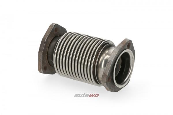 859253817 NEU Audi Sportquattro 20V Turbo Wellrohr Wastegate>Hosenrohr