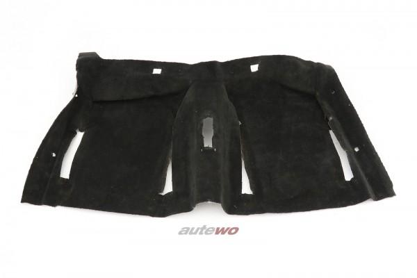 811863107E  Audi 80/90/Coupe Typ 85 Innenraum-Teppich Hinten schwarz
