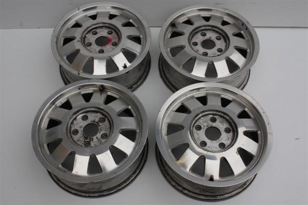 Audi A4/A6 Alufelgensatz 10-Speichen 6Jx15 ET45 Lochkreis 5x112 4B0601025J