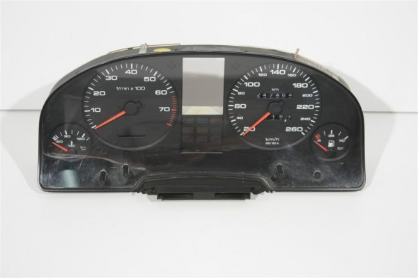 Audi 80/90 Typ 89 4/5 Zylinder Kombiinstrument VDO 260 km/h Tacho