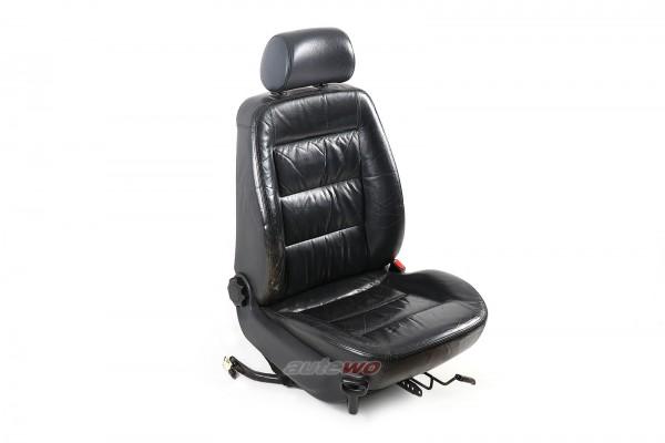 Audi A4/S4 B5 Beifahrersitz Leder schwarz