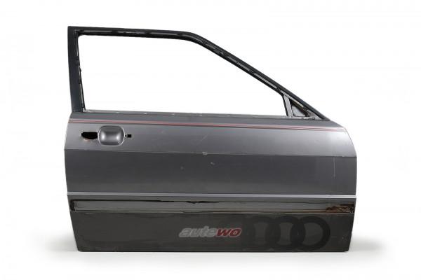855831052E Audi Coupe Typ 81/85/Urquattro Tür Vorne Rechts Grau