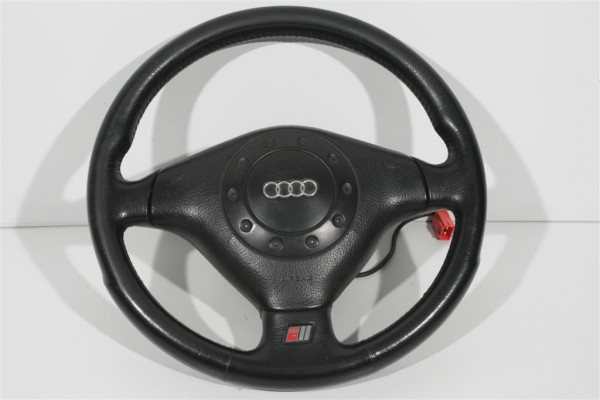 Audi Cabrio/A4/A6/A8 S-Line 3-Speichen Sportlenkrad Leder 4A0419091BB