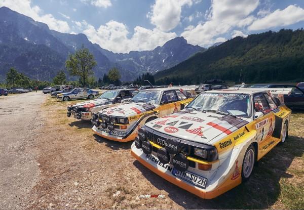 Postkarte Audi quattro S1 E2