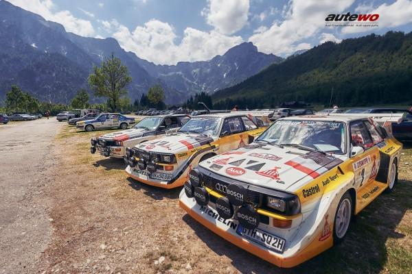 Poster DIN A2 Audi  quattro S1 E2