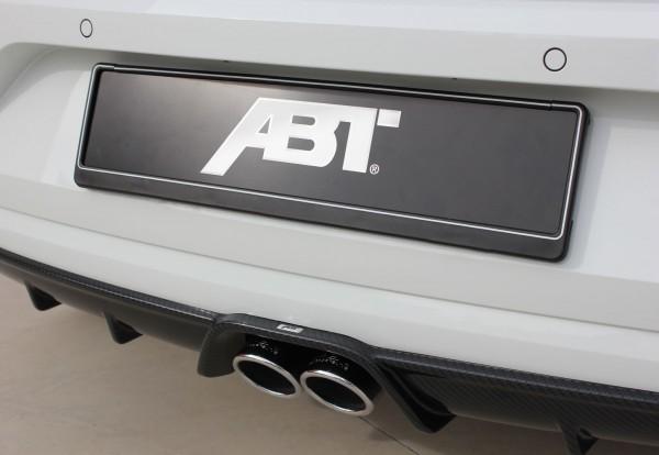 ABT Sportsline VW Polo 6R Heckschürzenaufsatz + Sport-Endschalldämpfer 6R048000130