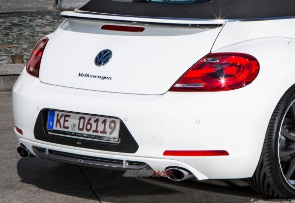 ABT Sportsline Heckschürzenset + Endschalldämpfer VW Beetle 5C