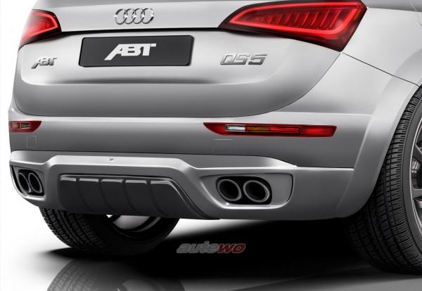 ABT Sportsline Audi Q5 8R 2.0 TFSI/3.2 FSI Heckschürzenset + Sport-Abgasanlage