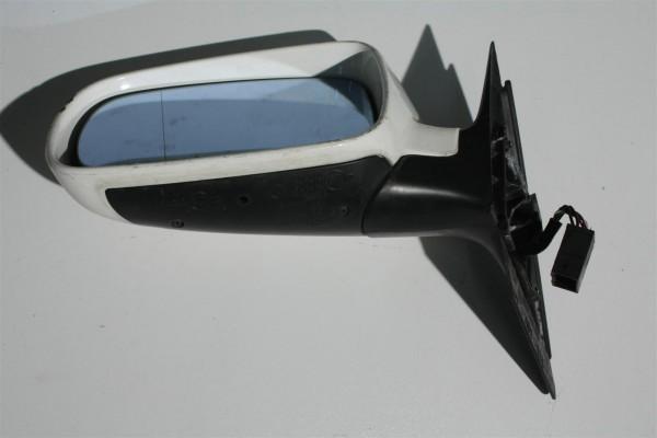 Audi A4 B5 Außenspiegel Links FS weiß L90E 8D1858531C