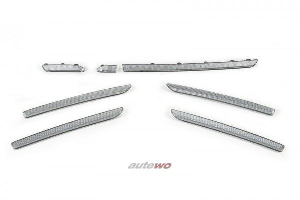 NEU Audi A3/S3/RS3 8V Sportback Interieur-Zierleisten titangrau 3D Optik