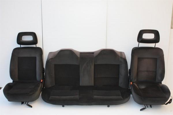 Audi 80/90 Typ 89 Limousine Innenausstattung Velours grau komplett