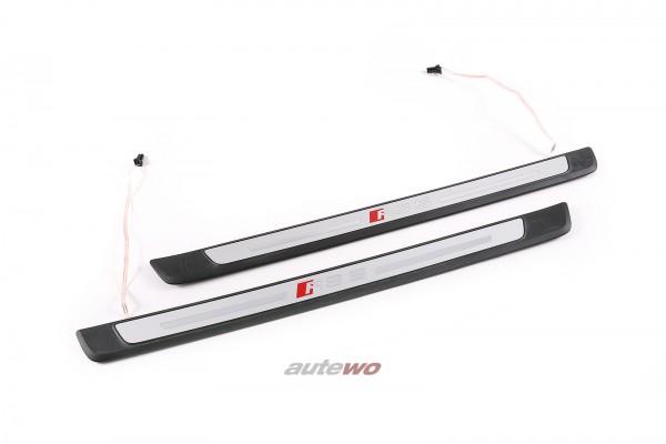 8W0947417C/8W0947418C Audi RS5 F5 Sportback Einstiegsleisten Beleuchtet