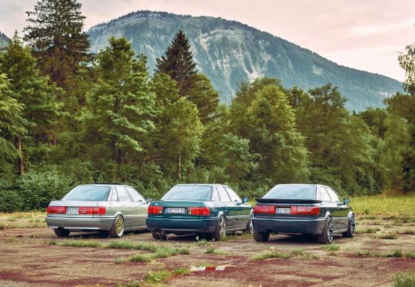 Postkarte Audi 5 Zylinder 20V Turbo Freunde