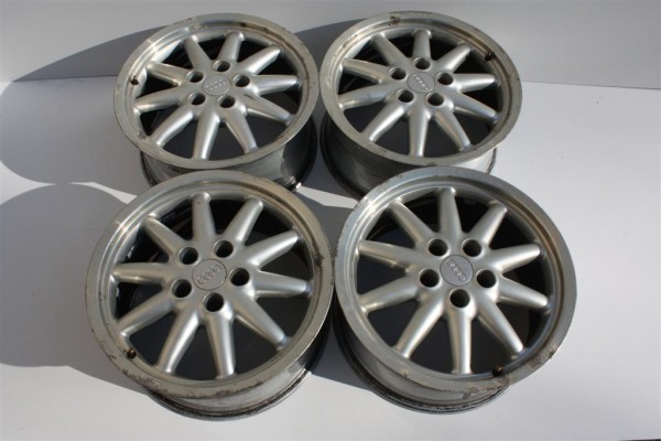 Audi S4/S6 Alufelgensatz 17 Zoll Bolero 10-Speichen 8Jx17 ET40 5x112 4A0601025M