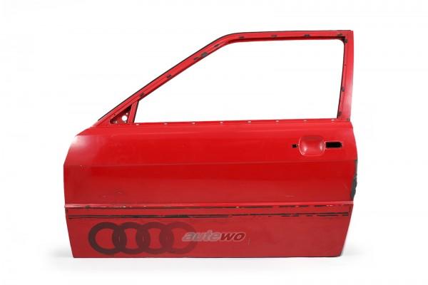855831051E Audi Coupe Typ 81/85/Urquattro Tür Vorne Links Rot