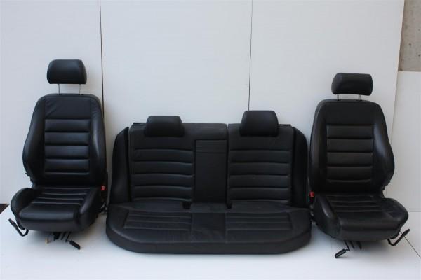 Audi A4/S4 B5 Avant Innenausstattung Leder schwarz Sportsitze + Sitzheizung