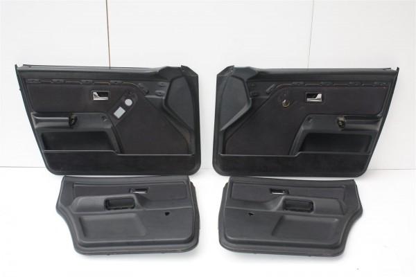 Audi 80 B4 Limousine/Avant Türverkleidungen 2x el. Fensterheber Stoff Filanda anthrazit SX
