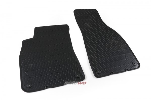 8E1061501A NEU Audi A4/S4 8E/B6/B7 original Gummi-Fußmattensatz Vorne