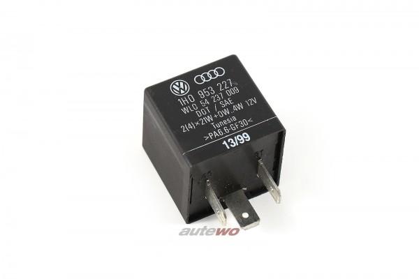 Audi/VW 80/100/A4/A6 Blink-Warnlicht-Relais 191 1H0953227