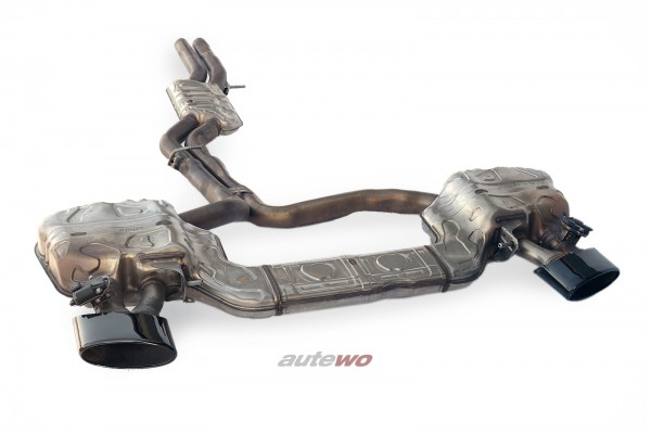 4K0253181CD NEU Audi RS6/RS7 C8/4K Klappen-Sport-Abgasanlage schwarz