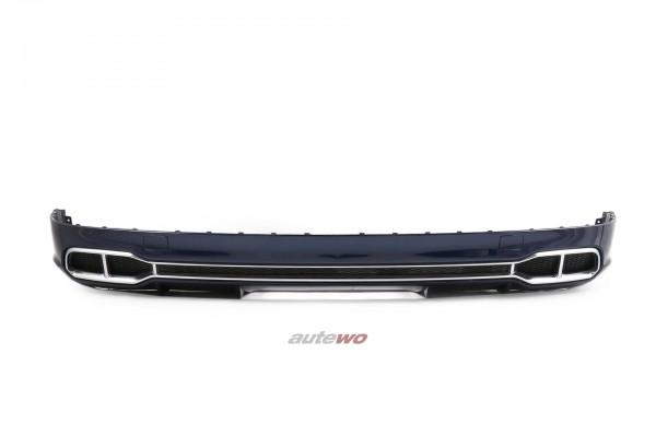80A807521D Audi Q5/SQ5 FY S Line-Heck-Diffusor Stoßstange LX5H Navarrablau