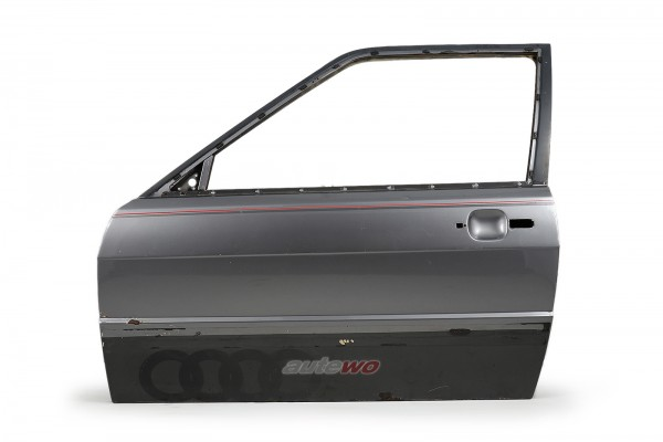 855831051E Audi Coupe Typ 81/85/Urquattro Tür Vorne Links Grau