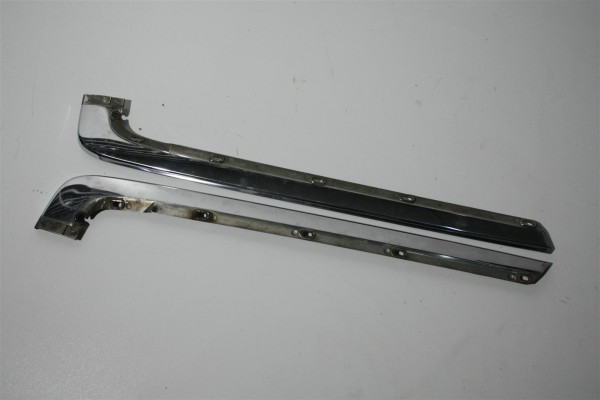 Audi 100/200 Typ 44 Zierleisten Stoßstange Hinten Chrom