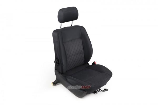 Audi A6 C4 Beifahrersitz/Normalsitz Rechts Stoff Satin Anthrazit