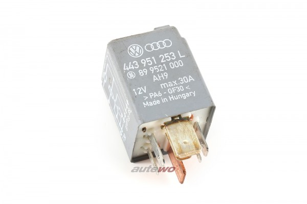 Audi/VW 80/100/A4/A6 Relais 215 Kraftstoffpumpe 443951253L