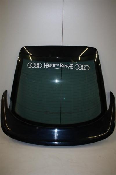 Audi Coupe Typ 89 Heckklappe + Siglachrom-Quattro-Heckscheibe dunkelblau 895827025G