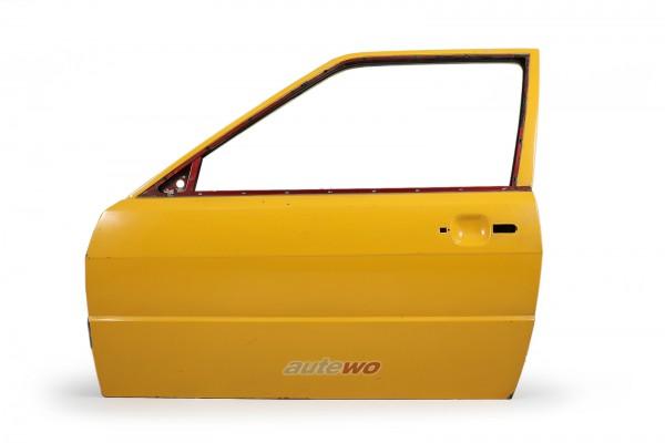 855831051E Audi Coupe Typ 81/85/Urquattro Tür Vorne Links Gelb