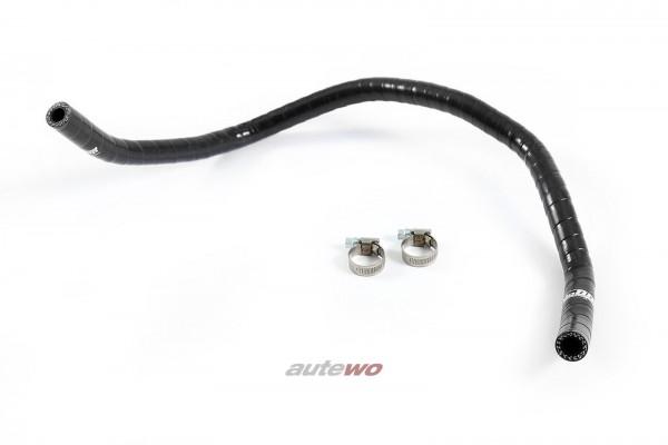 Silikon-Rücklaufschlauch Servolenkung schwarz Audi A6/S6/RS6 4B