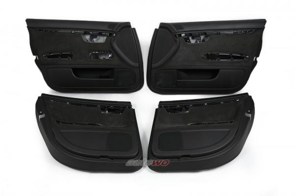 Audi A4/S4/RS4 8E/B6/B7 Türverkleidungen Alcantara N7U Soul Schwarz 25M