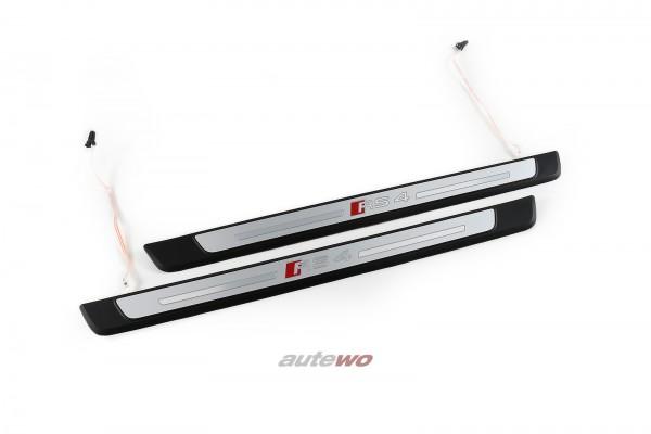 8W0947417B/8W0947418B Audi RS4 8W/B9 RS4 Einstiegsleisten Beleuchtet