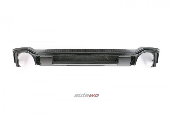 8W9807521B NEU Audi RS4 B9/8W Carbon-Diffusor Stoßstange Hinten