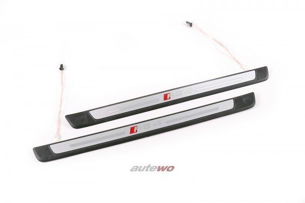 8W0947417B/8W0947418B NEU Audi RS4 8W RS4 beleuchtete Einstiegsleisten