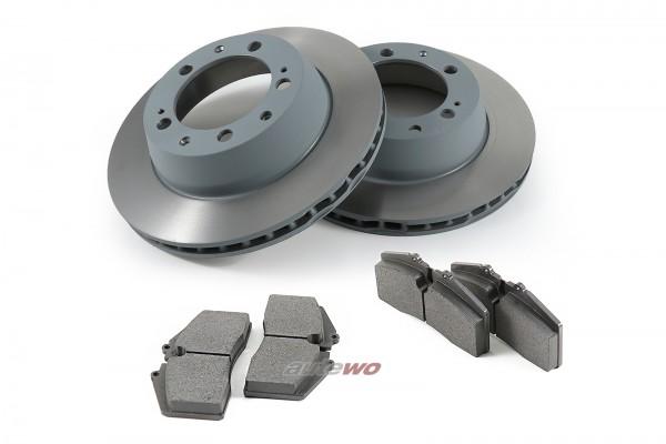 Audi RS2 Bremsscheiben 299x24mm + Beläge Hinten entsprechen 8A0615601C
