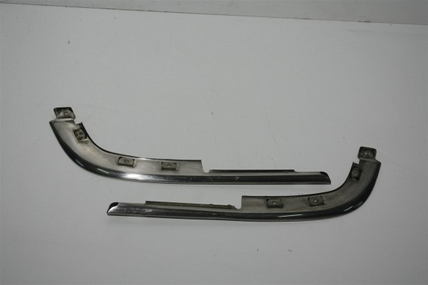 Audi V8 D11 Zierleisten Stoßstange VorneChrom 441853065E & 441853066E